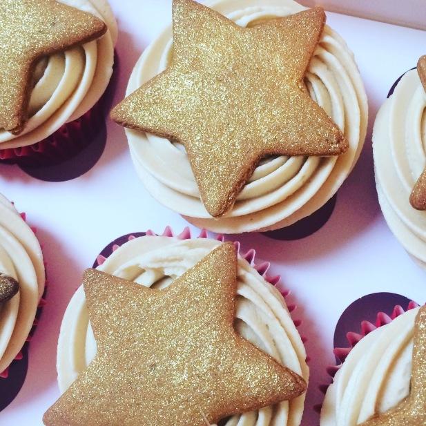 bc caramel cupcakes biscuit star xmas 1