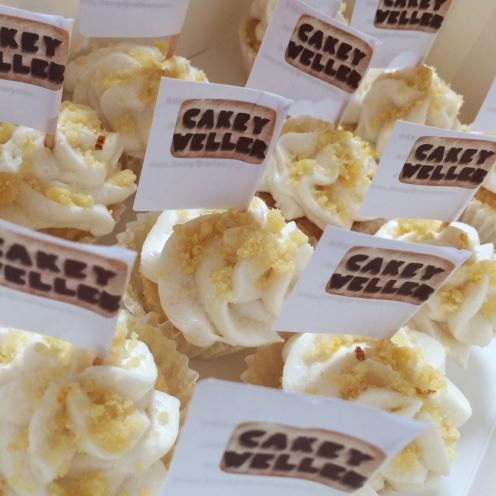 bc lemon crumble mini cupcakes