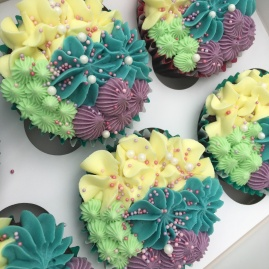 bc mermaid sprinkles cupcakes