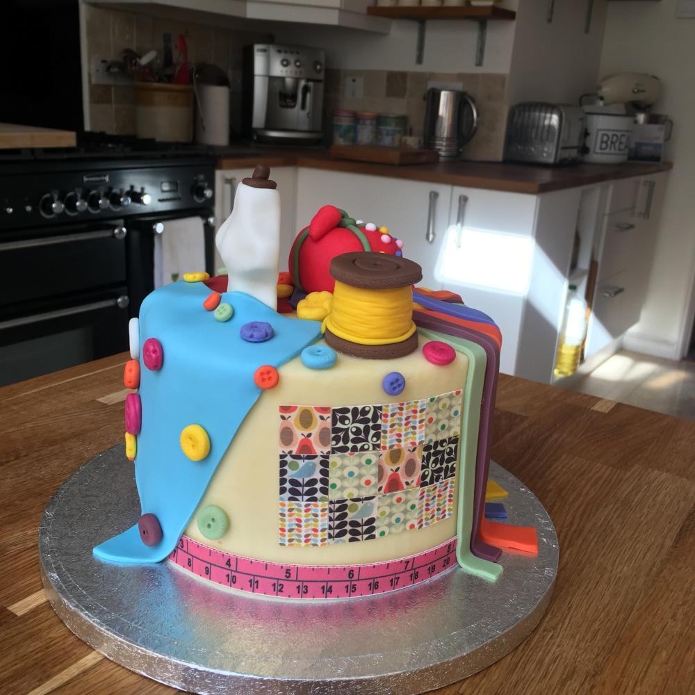 bc sewing hobby cake age 2