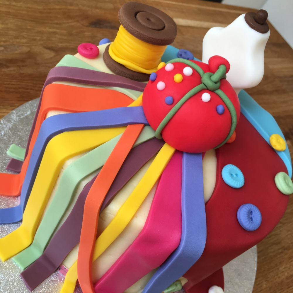 bc sewing hobby cake age 5