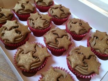 bc xmas christmas caramel cupcakes 2018