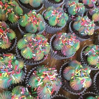 Mini Multicolour Sprinkles Cupcakes 2