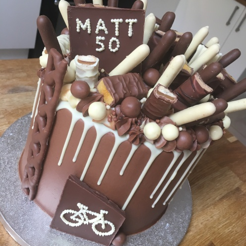 Chocolate Loaded Age Cake Bike 1