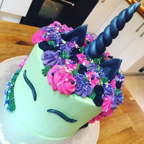 Halloween Unicorn Cake 2