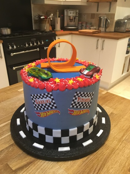 Hot Wheels Cake 2