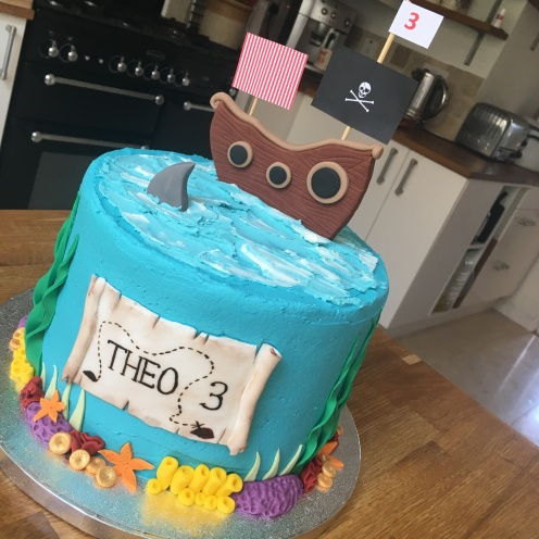 Pirate Vegan Cake 1