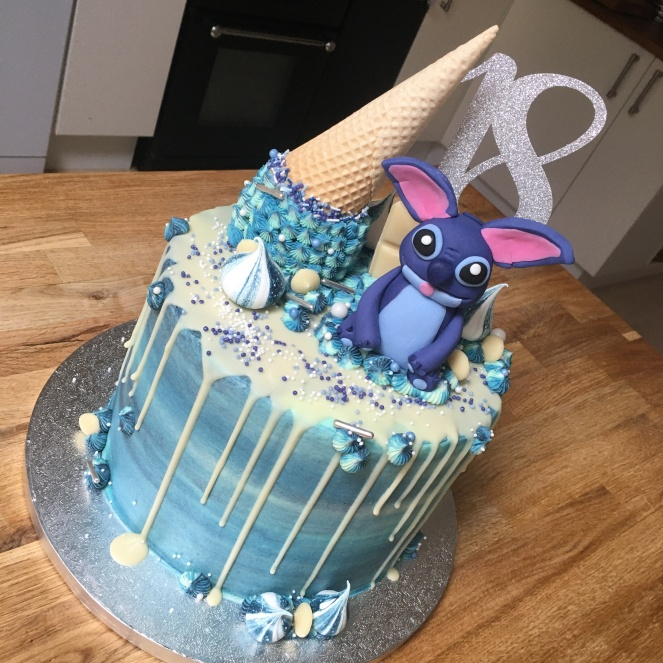 Stitch Treats Cake 1